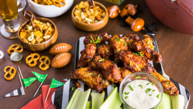 Photo of Delicious and Creative Game Day Wing Recipes